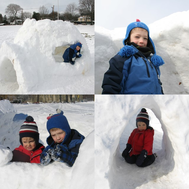 Marblehead igloo