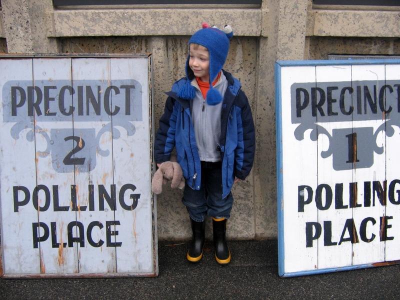 Clarke School, Swampscott pollingplace