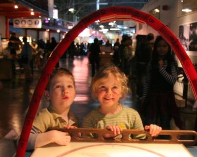 Catenary Arch at the Exploratorium SF