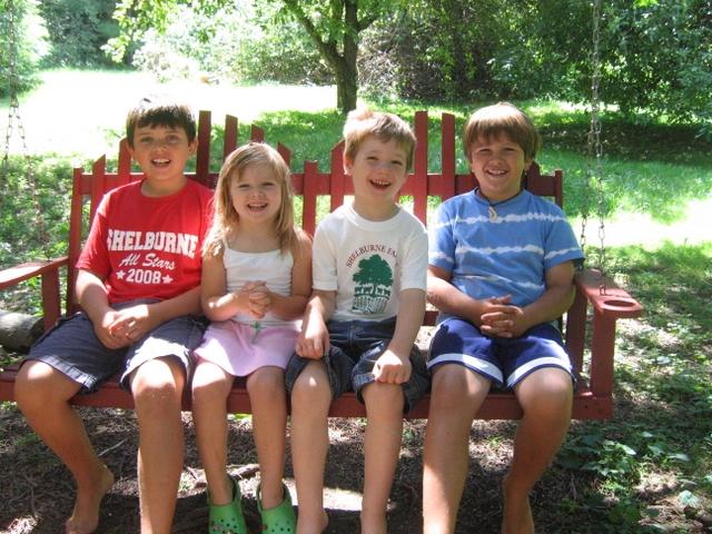 Thomas, Sophia, Leo and Ben