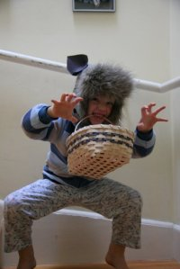Working on Halloween costume -- any idea what Leo will be?
