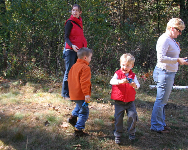 Finn capturing a moment on his camera