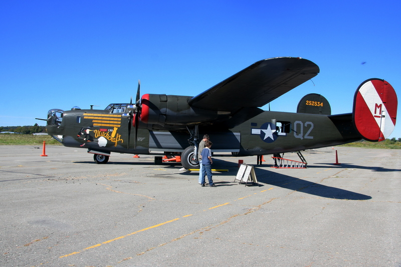 """The B-24 """"Witchcraft"""" (not the original """"Witchcraft"""", actually)"""